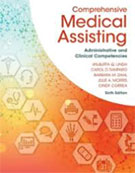 Image of the book cover for 'Comprehensive Medical Assisting'