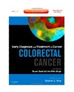 Image of the book cover for 'EARLY DIAGNOSIS AND TREATMENT OF CANCER: COLORECTAL CANCER'