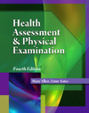 Image of the book cover for 'HEALTH ASSESSMENT & PHYSICAL EXAMINATION'
