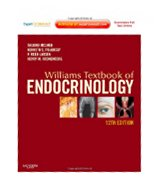 Image of the book cover for 'Williams Textbook of Endocrinology'