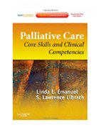 Image of the book cover for 'Palliative Care'