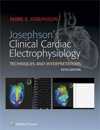 Image of the book cover for 'Josephson's Clinical Cardiac Electrophysiology'