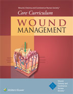 Image of the book cover for 'Core Curriculum: Wound Management'