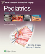 Image of the book cover for 'Master Techniques in Orthopaedic Surgery: Pediatrics'