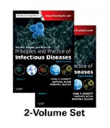 Image of the book cover for 'MANDELL, DOUGLAS, AND BENNETT'S PRINCIPLES AND PRACTICE OF INFECTIOUS DISEASES: 2-VOLUME SET'