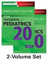 Image of the book cover for 'Nelson Textbook of Pediatrics, 2-Volume Set'