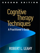 Image of the book cover for 'Cognitive Therapy Techniques'