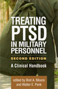 Image of the book cover for 'Treating PTSD in Military Personnel'