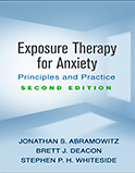 Image of the book cover for 'Exposure Therapy for Anxiety'
