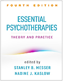 Image of the book cover for 'Essential Psychotherapies'
