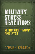 Image of the book cover for 'Military Stress Reactions'
