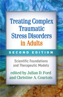 Image of the book cover for 'Treating Complex Traumatic Stress Disorders in Adults'