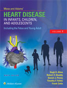 Image of the book cover for 'Moss and Adams' Heart Disease in Infants, Children, and Adolescents, Including the Fetus and Young Adult'