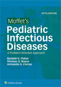 Image of the book cover for 'Moffet's Pediatric Infectious Diseases'