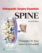 Image of the book cover for 'Orthopaedic Surgery Essentials: Spine'