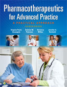 Image of the book cover for 'Pharmacotherapeutics for Advanced Practice'