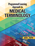 Image of the book cover for 'Programmed Learning Approach to Medical Terminology'