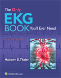 Image of the book cover for 'The Only EKG Book You'll Ever Need'