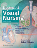 Image of the book cover for 'Lippincott Visual Nursing'