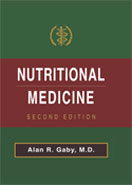 Image of the book cover for 'Nutritional Medicine'