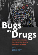 Image of the book cover for 'Bugs as Drugs'