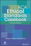 Image of the book cover for 'ACA Ethical Standards Casebook'
