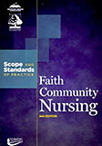 Image of the book cover for 'Faith Community Nursing: Scope and Standards of Practice'