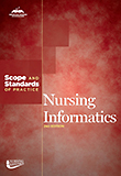 Image of the book cover for 'Nursing Informatics: Scope and Standards of Practice'