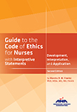 Image of the book cover for 'Guide to the Code of Ethics for Nurses with Interpretive Statements'