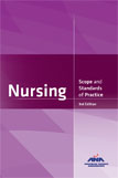 Image of the book cover for 'Nursing: Scope and Standards of Practice'