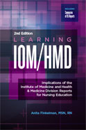 Image of the book cover for 'Learning IOM/HMD'