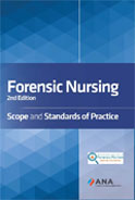 Image of the book cover for 'Forensic Nursing: Scope and Standards of Practice'
