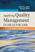 Image of the book cover for 'Applying Quality Management in Healthcare'