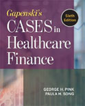 Image of the book cover for 'Gapenski's Cases in Healthcare Finance'
