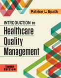 Image of the book cover for 'Introduction to Healthcare Quality Management'