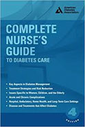 Image of the book cover for 'Complete Nurse's Guide to Diabetes Care'