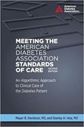 Image of the book cover for 'Meeting the American Diabetes Association Standards of Care'
