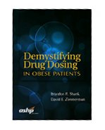 Image of the book cover for 'Demystifying Drug Dosing in Obese Patients'