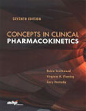 Image of the book cover for 'Concepts in Clinical Pharmacokinetics'