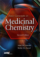 Image of the book cover for 'Basic Concepts in Medicinal Chemistry'