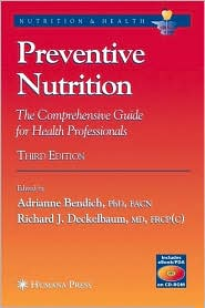 Image of the book cover for 'PREVENTIVE NUTRITION'