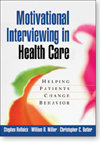 Image of the book cover for 'Motivational Interviewing in Health Care'
