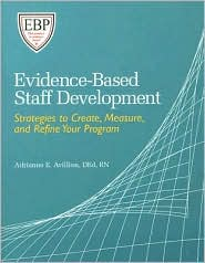 Image of the book cover for 'Evidence-Based Staff Development'
