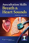 Image of the book cover for 'AUSCULTATION SKILLS: BREATH & HEART SOUNDS'