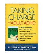 Image of the book cover for 'Taking Charge of Adult ADHD'