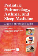 Image of the book cover for 'Pediatric Pulmonology, Asthma, and Sleep Medicine'