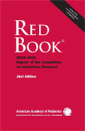 Image of the book cover for 'Red Book: 2018–2021 Report of the Committee on Infectious Diseases'