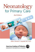 Image of the book cover for 'Neonatology for Primary Care'