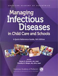 Image of the book cover for 'Managing Infectious Diseases in Child Care and Schools'