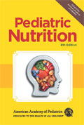 Image of the book cover for 'Pediatric Nutrition'